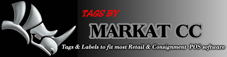 Tags by markat cc - tags and labels to fit most retail and consignment POS software